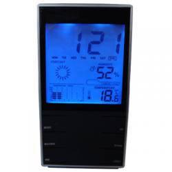 Настольные часы метеостанция st-8007 с термометром, гигрометром, подсветкой, фото 2