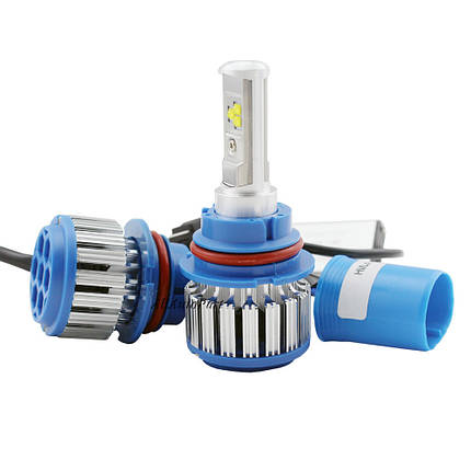 Xenon T1-H4 Turbo LED фары 6000К, фото 2