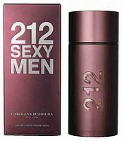 Туалетная вода Carolina Herrera 212 Sexy Men (магнитная крышка) (edt 100ml)