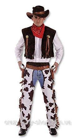 Дорослий карнавальний костюм Ковбоя б/у