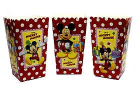 "Коробки для попкорна ""Mickey Mouse"". В упак: 5 штук"