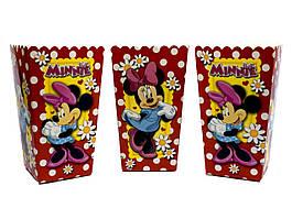 "Коробки для попкорна ""Minnie Mouse"". В упак: 5 штук"
