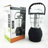 Большой кемпинговый светодиодный фонарь с динамо ручкой Led лампа LS-360 (36 ДИОДОВ)