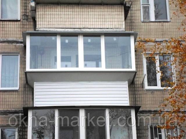 Пластиковые балконы в рассрочку Киев