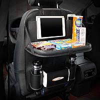 Автомобильный органайзер для заднего сиденья кожа PU