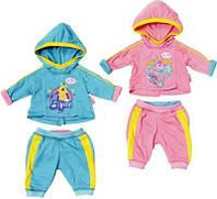 Спортивный костюмчик для куклы Baby Born Zapf Creation 823774, фото 1