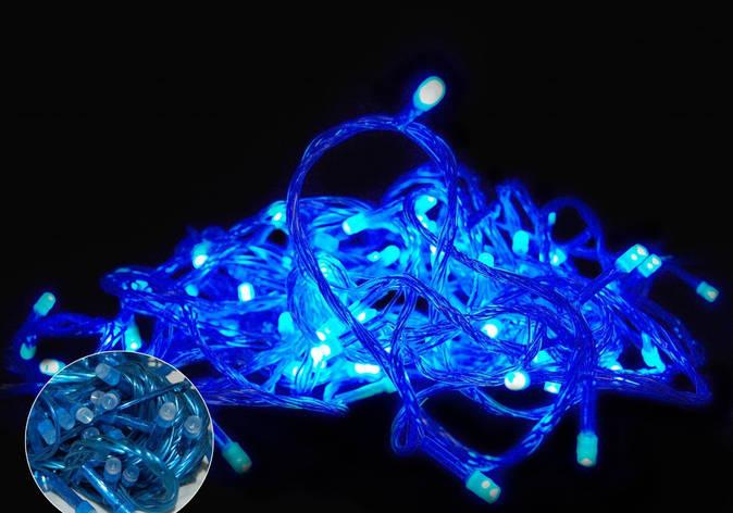 ГИРЛЯНДА (ОДНОТОН) LED 100 BLUE, фото 2