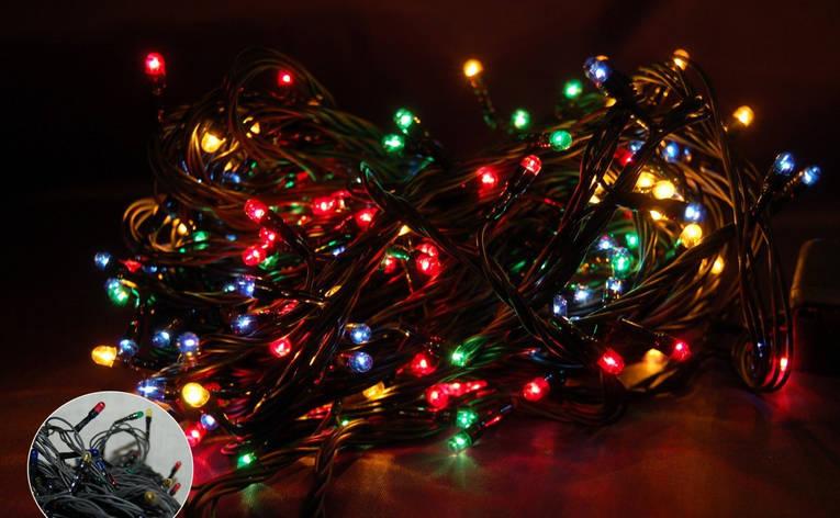 Гирлянда на лампочках 200L multi, фото 2