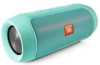 Портативная колонка JBL Charge2 беспроводная Bluetooth FM USB бирюза