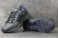 Зимние Кроссовки Adidas Equipment код 3794 темно синие