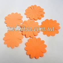 Заготовка из фоамирана для изготовления цветка ромашки, 3,8см, цвет персиковый