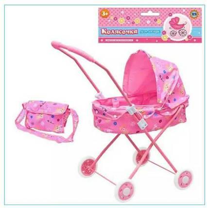 Детская коляска для кукол M 0595 U/R с сумкой, фото 2