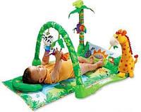 Детский развивающий коврик Тропический лес 3059