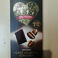 Шоколад Zero с кофе 100гр