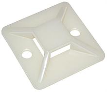Площадка ПП самоклейка белая  20mm x 20mm (упаковка 100 шт.)