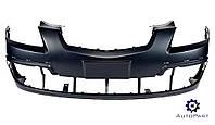 Бампер передний (с отверстиями под накладки) -2010 Kia Rio 2006-2011