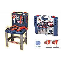 Детский игровой набор инструментов 008-21 чемодан -стол