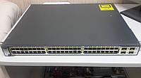 Коммутатор Cisco Catalyst 3750 (WS-C3750-48PS-S) Switch
