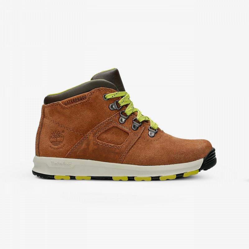 Оригинальные зимние детские ботинки TIMBERLAND GT SCRAMBLE MID LTHR WP -  All-Original Только оригинальные 91454a4f8346f