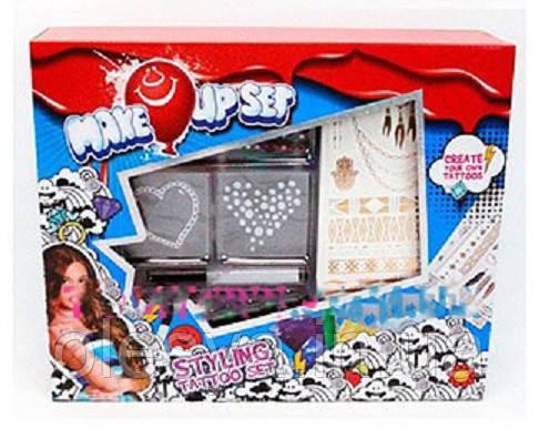 Игровой набор косметики для тату-супер подарок для девочки