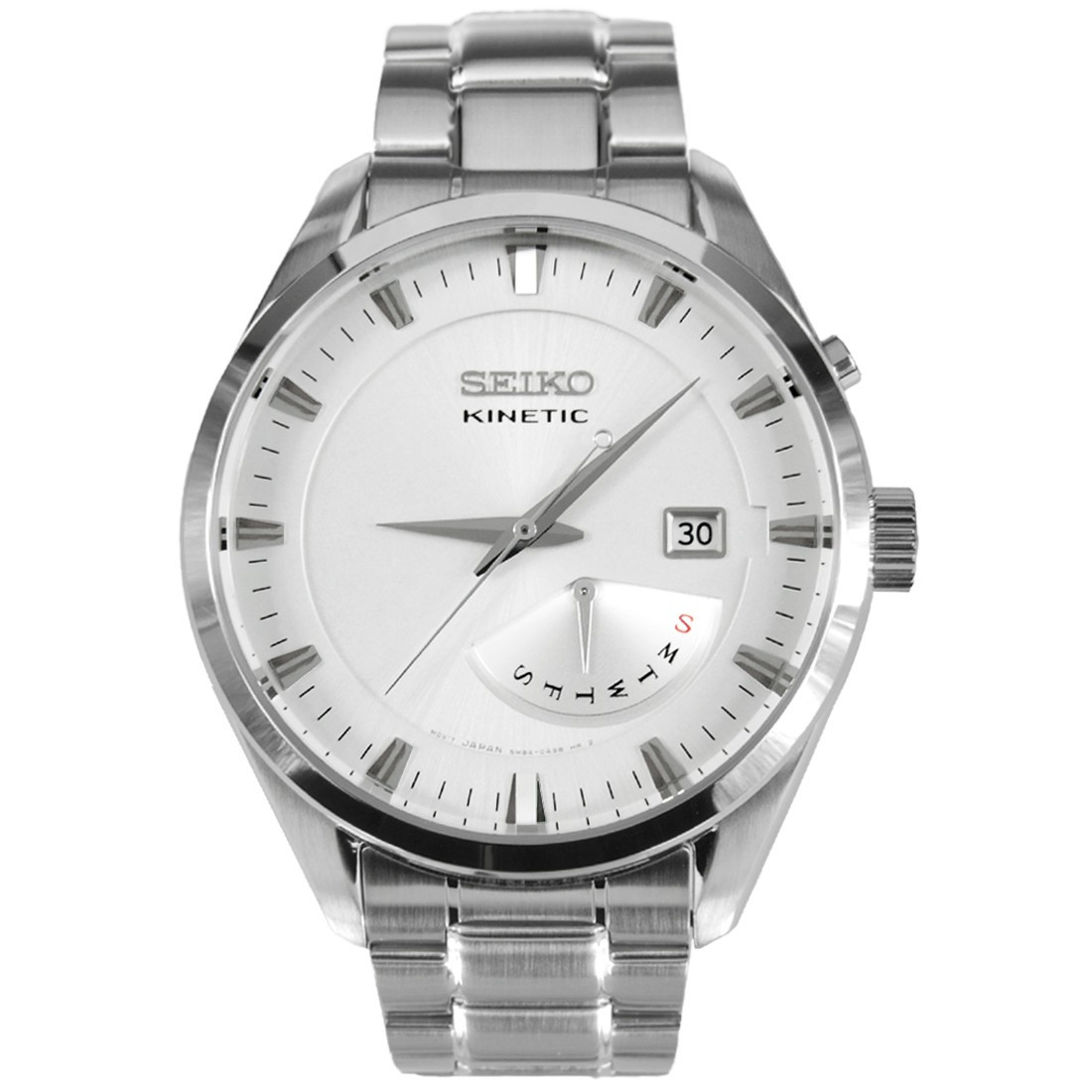 Часы Seiko SRN043P1 Kinetic 5M84
