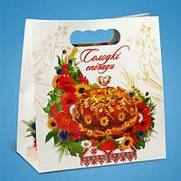 """Пакет для каравая """"Солодкі спогади"""", коробочка для свадебного каравая"""