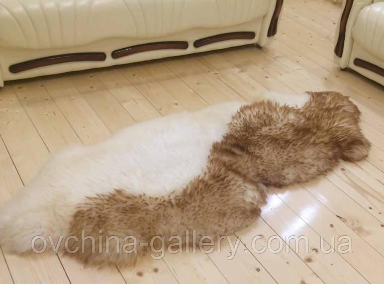 "Ковер из 2-х овечьих шкур ""Волна"", размер 200х70"