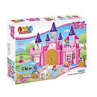 Крупноблочный конструктор «Замок принцессы» (140 деталей) JDLT 5241