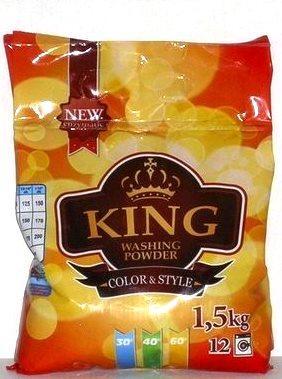 Стиральный порошок King Color Style, 1.5 кг