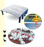Пластиковые решетчатые полы для птичников