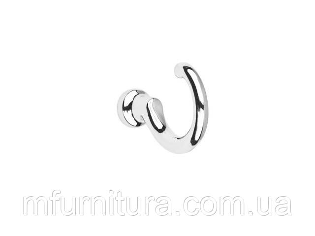 Крючок для одежды WK 1204 ST / хромированный / ДС-Фурнитура