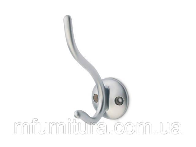 Крючок для одежды WР 4906 ST / сатин-матовый никель / ДС-Фурнитура