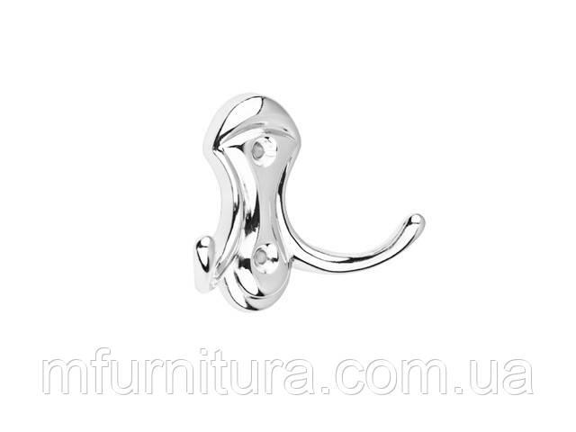 Крючок для одежды WР 3904 ST / хром / ДС-Фурнитура