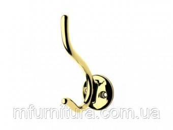 Крючок для одежды WР 4903 ST / золото / ДС-Фурнитура