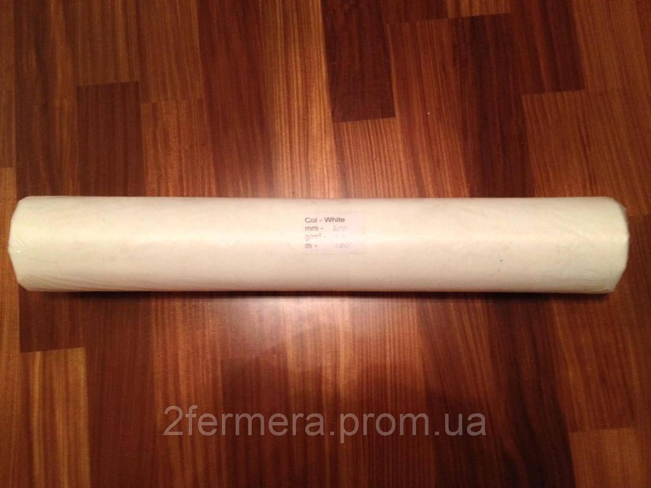 Простынь одноразовая 21гр 0.8*100м. белая new, фото 1