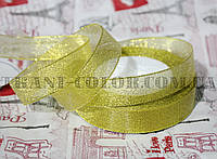 Лента парча 2см золото (23 метра)