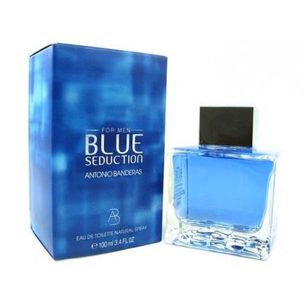 Мужская туалетная вода ANTONIO BANDERAS BLUE SEDUCTION 100 ML MEN, фото 2