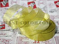 Лента парча 2,5см золото (23 метра)