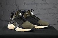 Мужские зимние кроссовки в стиле Nike Huarache высокие (41, 42, 43, 44, 45 размеры)