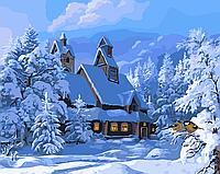 """Картина по номерам """"Зимний пейзаж"""""""