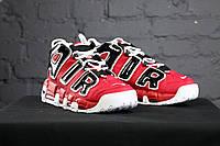 Мужские кроссовки в стиле Nike Air More Uptempo Red (41, 42, 43, 44, 45, 46, 47 размеры)
