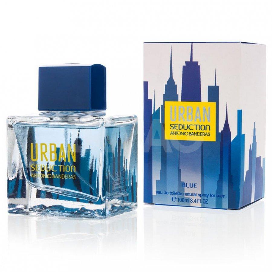 Мужская туалетная вода Antonio Banderas URBAN blue men, 100 мл
