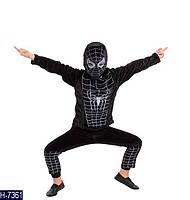 Карнавальный костюм Человек Паук в черном