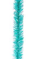 Новогодний дождик гирлянда 75мм/2м неон метал+прозрачн , фото 1