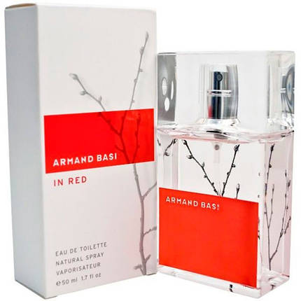 ARMAND BASI IN RED EDT WOM 50 ml , фото 2