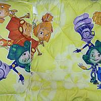 Набор одеяло 110х140см и подушка 40х60 Фиксики