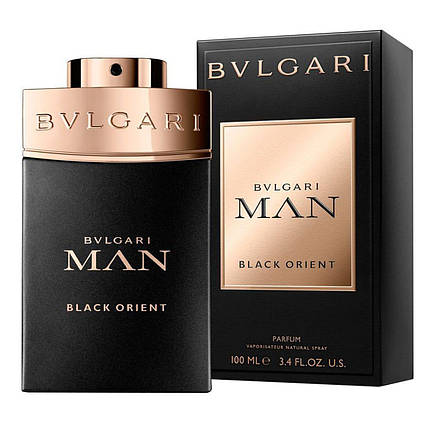 Мужская туалетная вода Bulgari MAN BLACK ORIENT 100 ml, фото 2