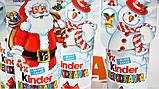 Новогодний Kinder Surprise в тубусе Kinder Niespodzianka, 4 яйца*20 г, фото 2