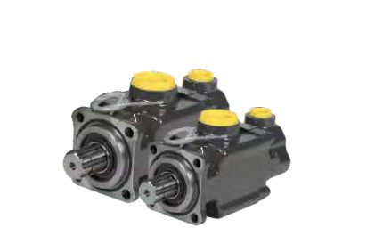 Аксиально-поршневой насос высокого давления 2 потока A4PP2х5 поршня Gold Hydraulics