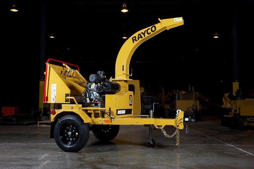Автономная дереводробилка RC6D Raycoр